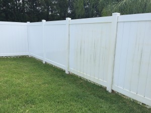 Lakewood Ranch Fence Cleaning
