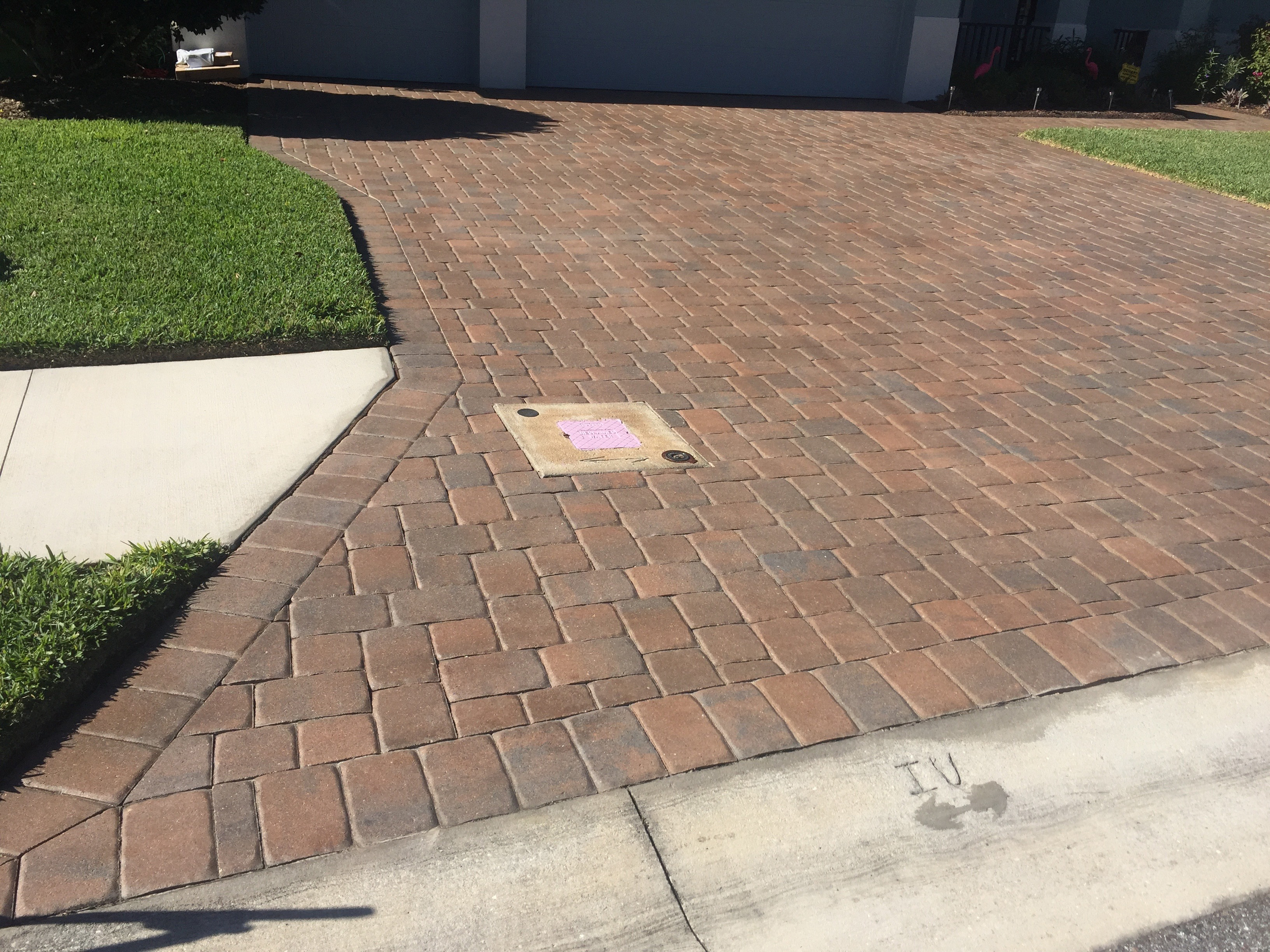 Brick Pavers Pressure Washing And Pressure Cleaning